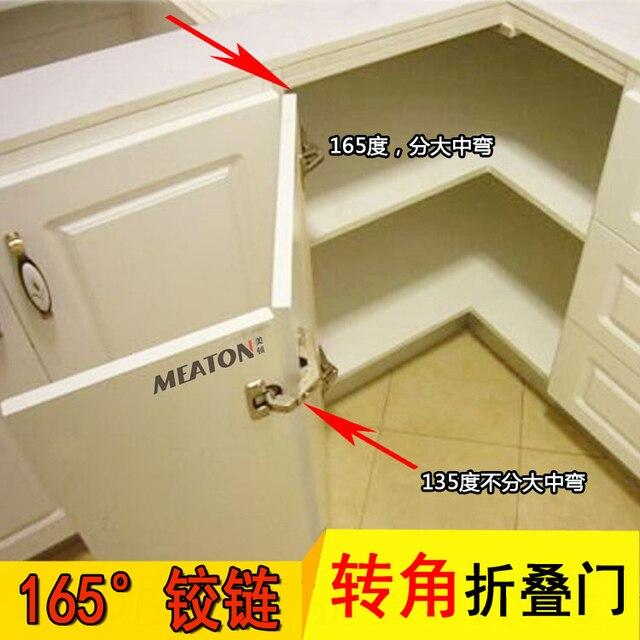115 135 165 grados bisagras plegable vinculación dos esquina puerta ...