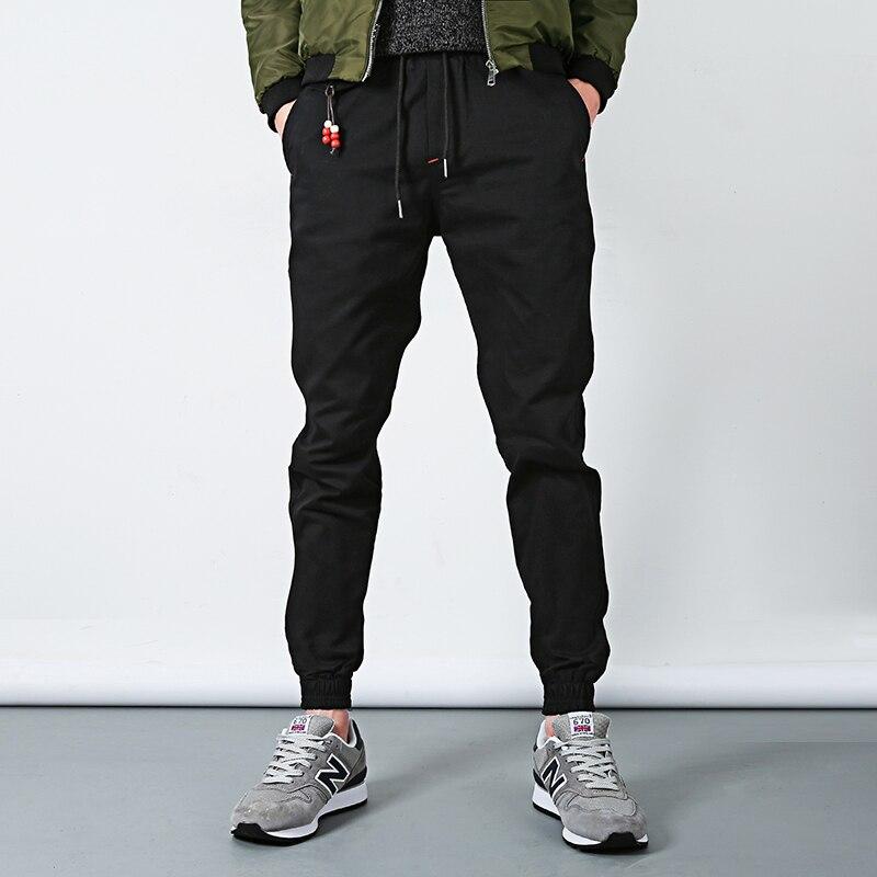 Fashion New Skinny Summer Mens Pants Hip Hop Harem Joggers Pants 2017 Male Trousers Mens Joggers