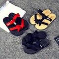 Alta qualidade Mulheres Sandálias de Verão Chinelo Interior Sapatos Chinelos de Praia Ao Ar Livre