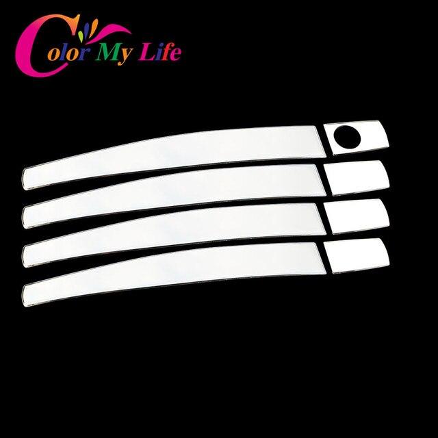 Color My Life Stainless Steel Door Handle Cover Sticker