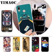 YIMAOC Future DeLorean Time Machine Soft Case for Huawei P30 P20 Pro P10 P9 P8 Lite P Smart Cover
