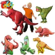 85232dde92 1 pièces Géant Dinosaure feuille ballon garçons animal ballons enfants fête  d'anniversaire dinosaure monde