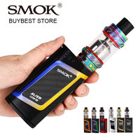 Most Popular 220W SMOK Alien Vape Kit With 6ml TFV12 Tank Atomizer VS 220W SMOK Alien