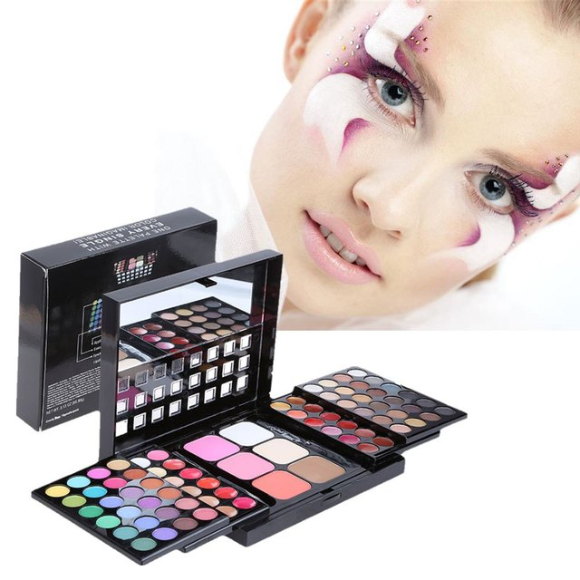 New Arrival Colorful Eyeshadow Cosmetics Makeup Tool Waterproof Professional 78 Colors Makeup Eye Shadow Make up Kit Set