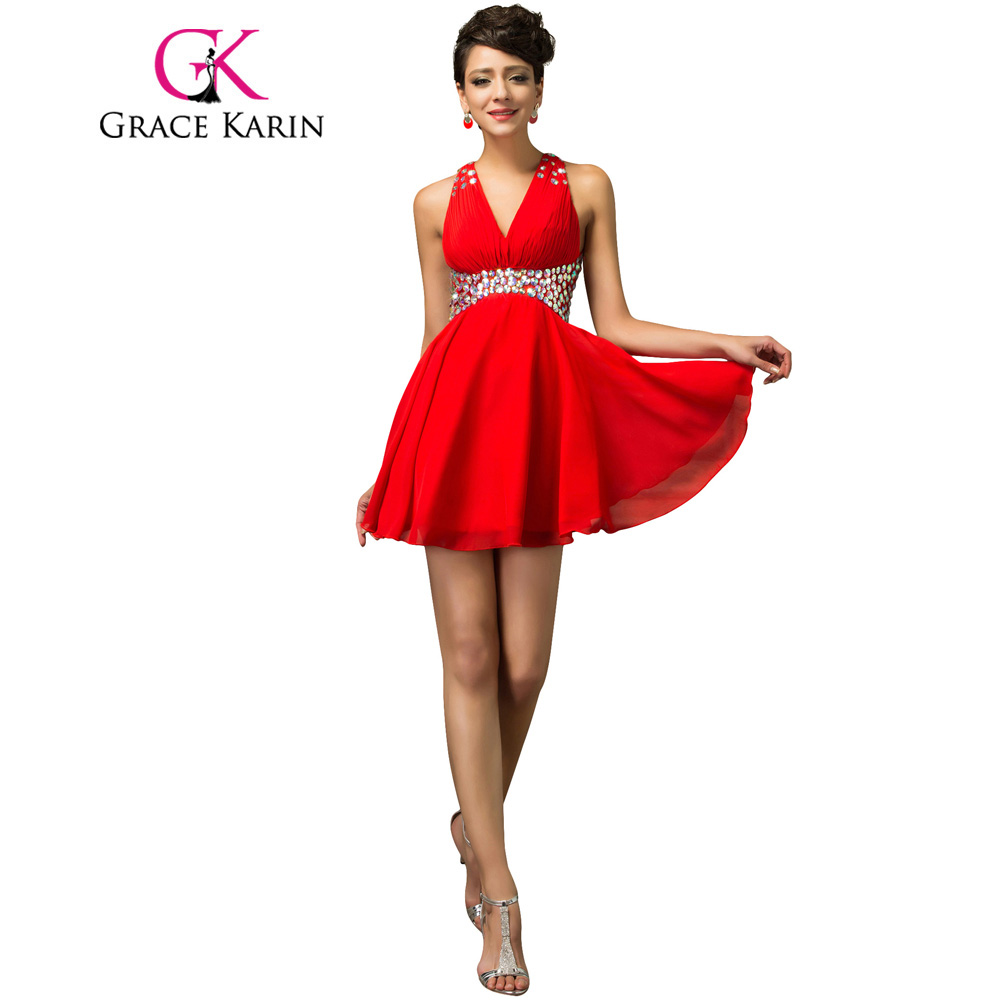 Red Cocktail Dress Cheap