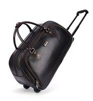 High Quality Famous Brand Men S Travel Trolley Bag Women Travel Suitcase On Wheels Malas Men