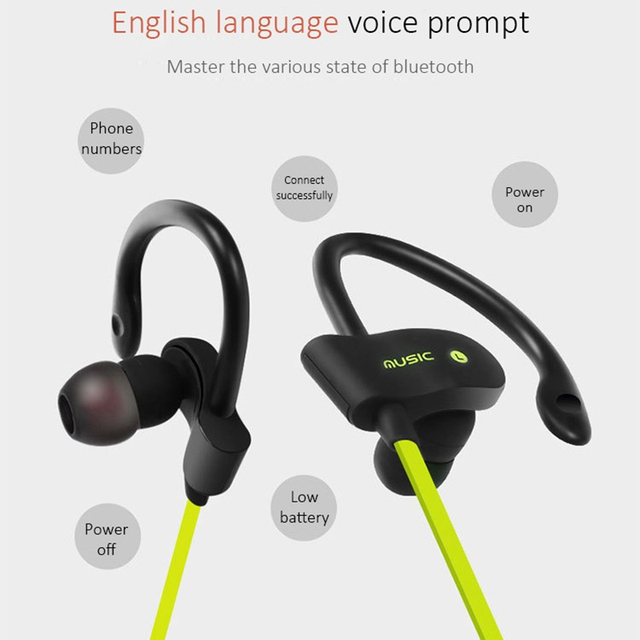 Ubit 56S Sports In-Ear Wireless Bluetooth Earphone with Mic