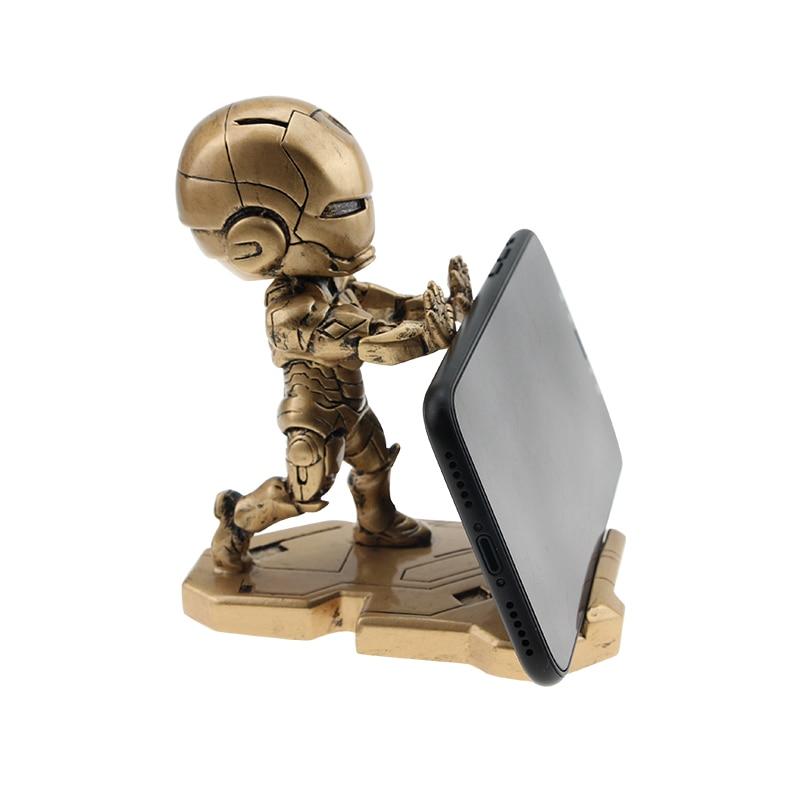 Super Hero Marvel Avenger Phone Holder for iPhone 7 8 XS X Universal Mobile Stand Desk Xiaomi Samsung iPad