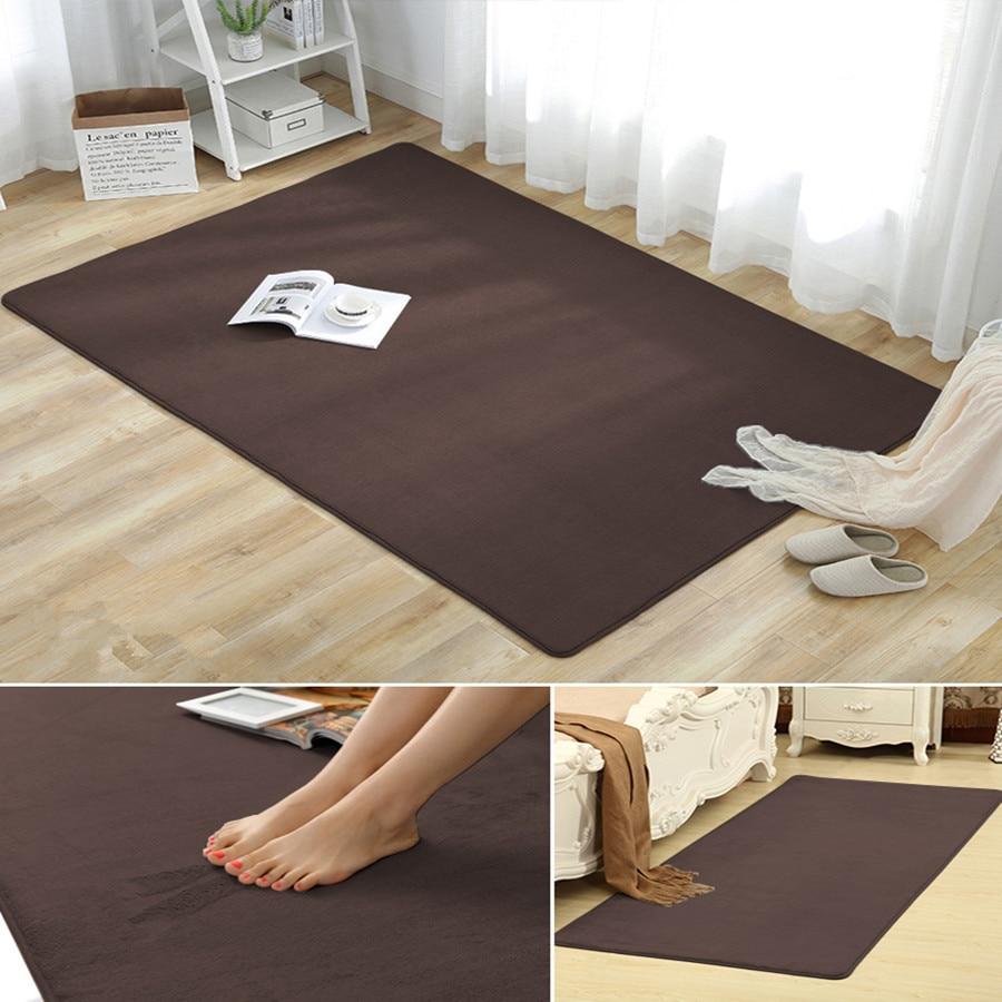 Us 1 53 52 Off High End C Velvet Thick Carpet Living Room Coffee Table Blanket Bedroom Bedside Rug Children Crawling Mat Baby Cushion In