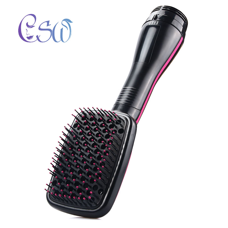 CSW Multifunctional Hot air comb Straightening comb Electric Hair dryer comb Fast Flat iron Hair Straightener Brush Hair Perm цены