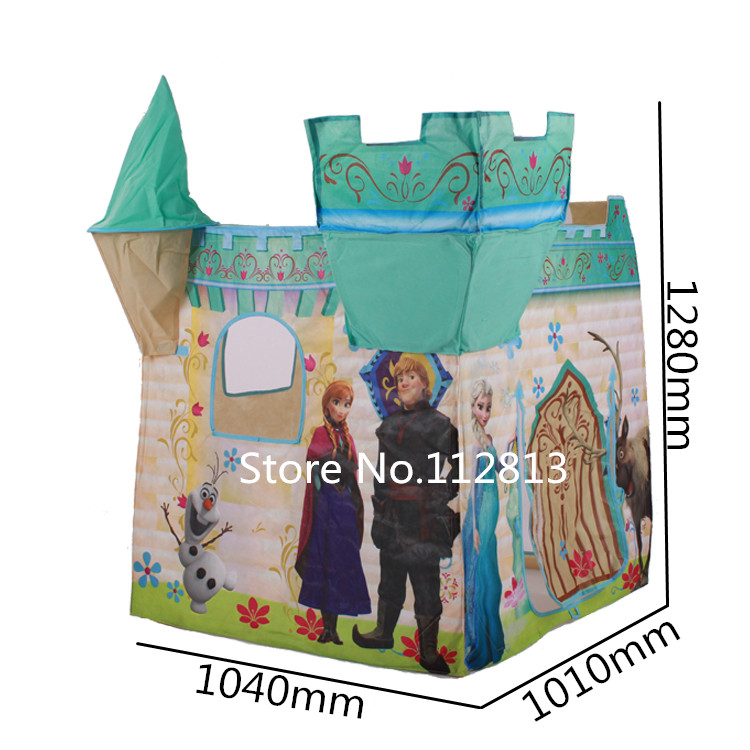 2016 Hot Child Kids Play Tent House Foldable Outdoor Indoor Play Toy Game Tents Baby Play Ball Tents W05-1