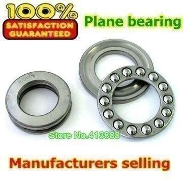 500pcs/lot free shipping Wholesale Axial Ball Thrust Bearing 51110 50*70*14 mm Plane thrust ball bearing 51104 carbon steel axial ball thrust bearing 20x35x10mm