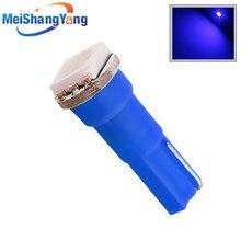 T5 1 SMD 5050 blue Signal panel LED Lamp 74 lamps Car interior car lights light source 12 V