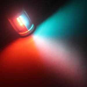 Image 5 - マリンボートヨット Led ナビゲーションライト 12 赤、緑ポート右舷ライト