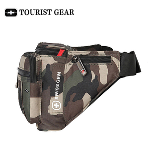 Image 2 - Bolsa de cintura suíça para homens e mulheres, pochete com cinto de quadril, mochila de viagem, montanhismo, para celular pacotes