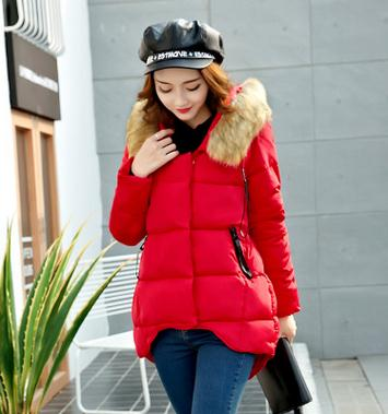 2017 Maternity Winter Hoodied Down Jacket Fashion Korean Pregnant Women Coat Loose Large Size Jackets for Pregnant Women SZ1102