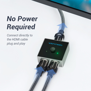 Image 2 - HDMI переключатель Vention, двунаправленный, 2,0 дюйма, 1x2/2x1, для ТВ приставки PS4 Pro/4/3