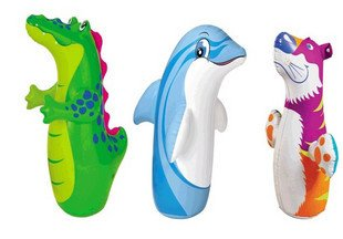 Intex 3 D Bop Bags Air Toys