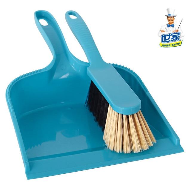 Small besmirchers dustpan household cleaning brush grey broom bucket ...