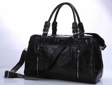 J.M.D Vintage Genuine Men's Classic Travel Luggage Handbag Cross Body Duffle Bag Huge 18″  # 7190A
