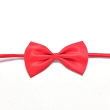 Акция; регулируемый галстук-бабочка для мальчиков; Детские однотонные галстуки-бабочки; галстук для свадебной вечеринки