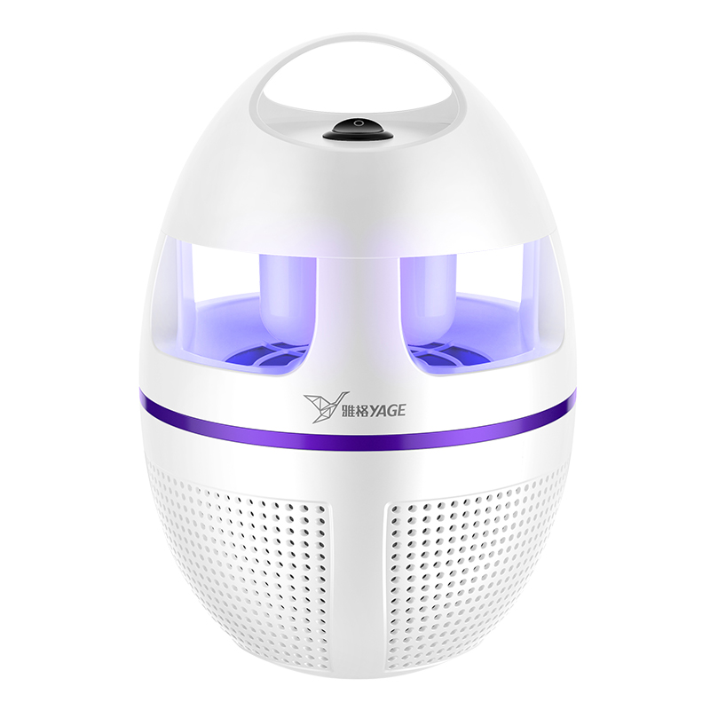 Garden Supplies Pest Control Mosquito Killer Lamp Led Killer Moth Purple Light LED Bug Zapper Fly Lamp Trap Wasp Pest Wind power in Traps from Home Garden