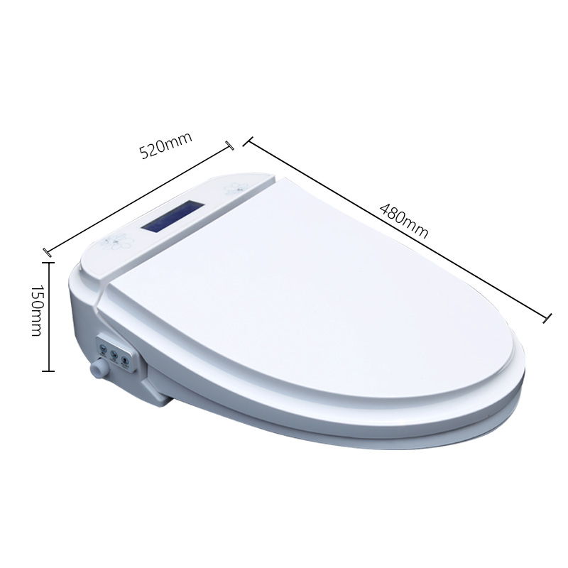heated toilet seat cover. aliexpress.com : buy koyida washlet heated toilet seat cover led light automatic heating cleaner intelligent bidet with female buttock flusher from o