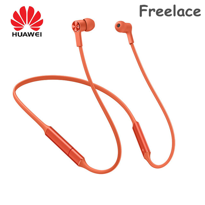 In Stock Huawei FreeLace Wireless Earphone Bluetooth Sport waterproof in ear Memory Cable Metal Cavity Silicon