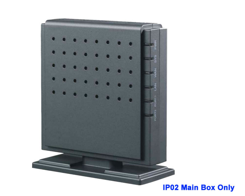 IP02 -0 Analog trunk Asterisk Ready Small PBX Main Box ONLY Supports 1~ 2 FXO or FXS for VoIP sip IP phone system