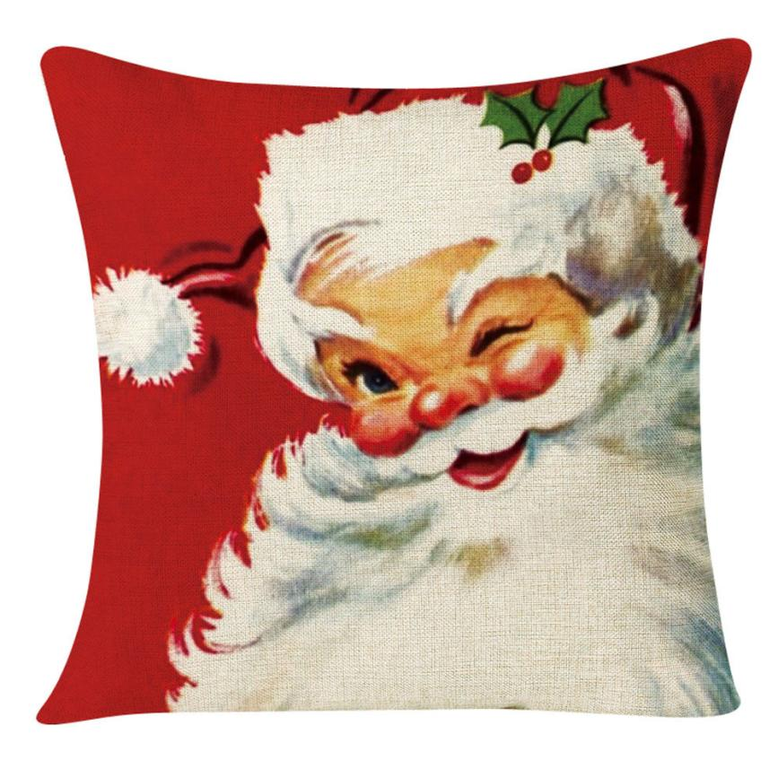 100% brand new and high quality Christmas Series Sofa Bed Home Decoration Section Holiday Xmas Decorative Cushion Almofada