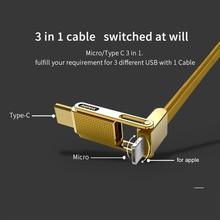 Remax Gplex 3in1 Cable