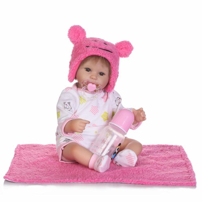 16 pouces Silicone Reborn poupée mode jouets pour enfants 40 CM belle fille poupées Reborn cadeau d'anniversaire pour COLLECTION