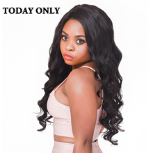 Today Only Hair Brazilian Body Wave Bundles Non-Remy Human Hair Weave Bundles Natural Color Hair Extensions 8″-28″ Free Shipping