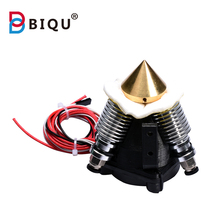 3D Printer Diamond Extruder Hotend 3D V6 heatsink 3 into 1 out Multi Nozzle full kit for 1.75/0.4mm autoleveling he3d k200 delta 3d printer kit diy printer single nozzle extruder support multi material