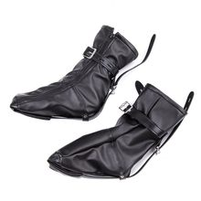 Kinky BDSM Bondage Soft PU Leather Padded Boot Booties Feet Restraint Socks Female Foot Fetish Sex Toys,Ankle Cuffs Sex Products(China)