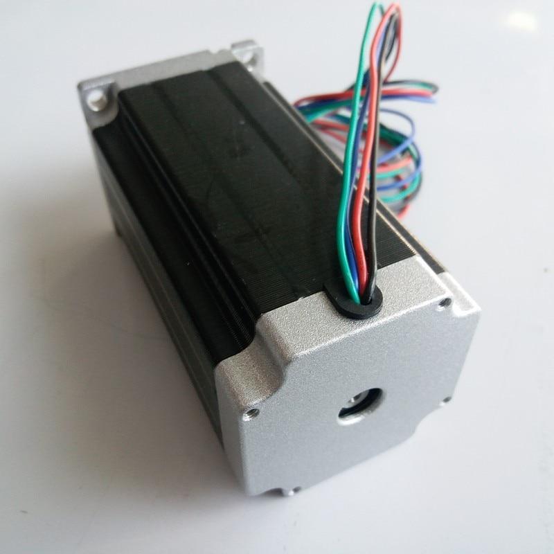 Nema34 86 мм 9.5Nm шаговый двигатель 126 мм длина 6A 1360Oz-in 2ph 4 провода высокий крутящий момент для токарного станка с ЧПУ