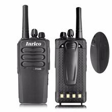 Walkie talkie con radio android, equipo de policía GPS, 50km, GSM, WCDMA, tarjeta SIM, 3G, profesional, con certificado CE y FCC