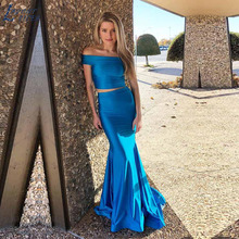 LAYOUT NICEB SHJ858 Fahion Two Pieces Mermaid Prom Dress