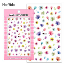 Nail Art Sticker F001-F023 Self-sticking Stickers F Series Decal Self-adhesive Decoration Press on Nails Manicure NBF