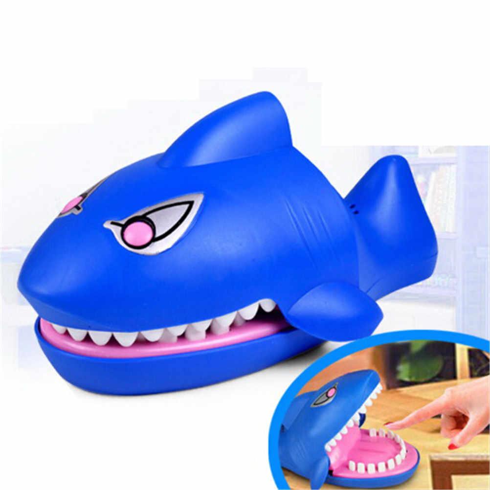 Juguete de novedad para niños, divertido juego de morder con boca de tiburón para dentistas, divertido juguete de broma