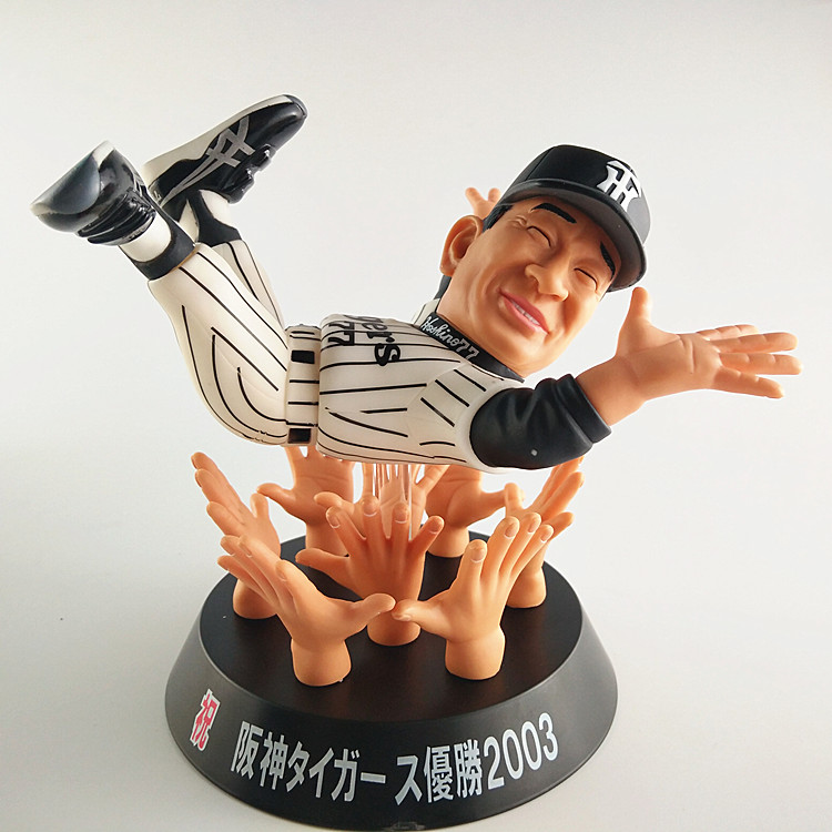 Sports Figure Limited Model Toys HANSHIN Tigers 2003 PVC Figure Model Toy For Collection,Gift,Decoration,Kids