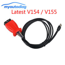 2018.11 Latest JLR V154 V155 SDD Diagnostic Cable for Volvo VIDA for Toyota TIS 3 In 1 Scanner Support 2016(China)