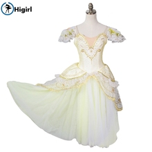 gold ballet tutu dress adult ballerina costumes professional tutus kids giselle costumesB001