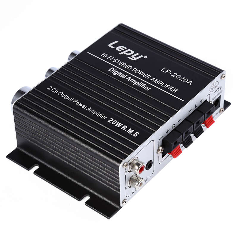 Lepy Lp 2020A Class-D Hi-Fi Audio Mini Amplifier With Power Supply Lepy Amplifier Lp2020A Eu Plug