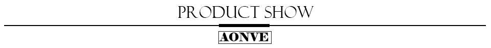 AONVE PRODUCT SHOW