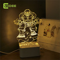CNHidee USB Novelty Touch Dimming Hulk 3d Table Lampara Children Desk Light Creative Led Nightlight Lamp as Home Decor