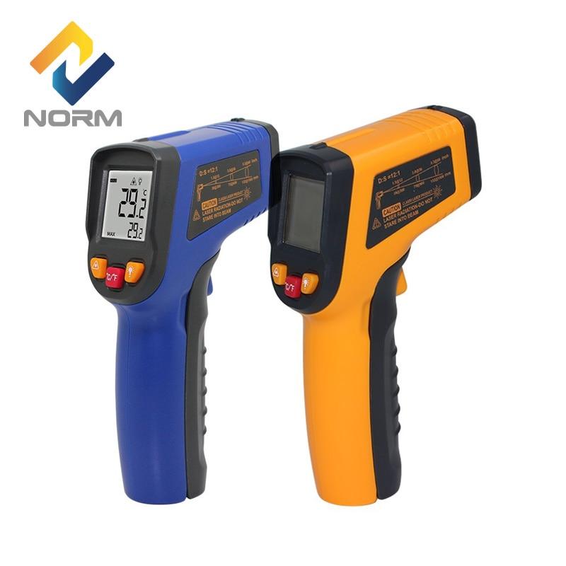 Norma 400,600 Centidegree A Raggi Infrarossi Pirometro Senza contatto industriale e houserhold digitale termometro a infrarossi