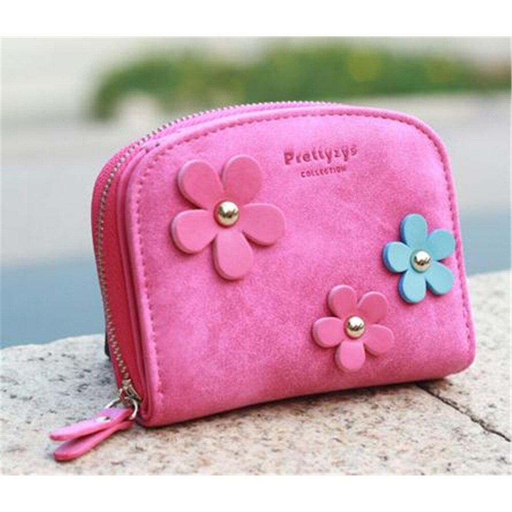 do vintage das senhoras do Female Wallet Color : Pink/rose Pink/grey/navy Blue/brwon