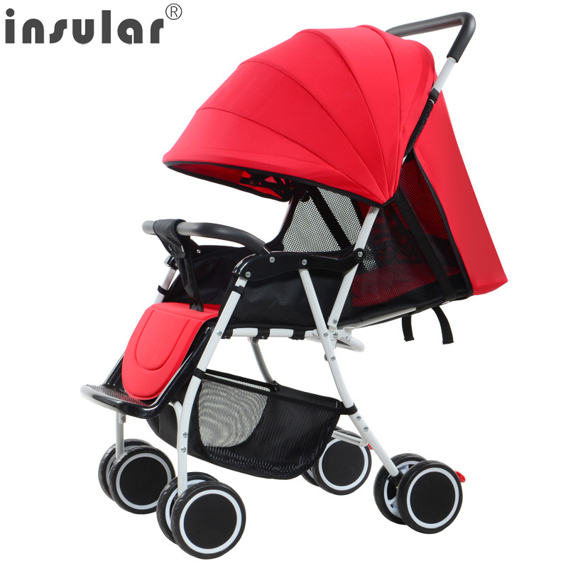 2017 NEW Arrival Handiness Folding Baby Stroller Can Sit Can Lie Activity...