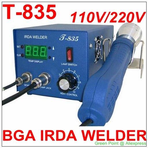 Authorized Original PUHUI T 835 BGA IRDA WELDER T835 Infrared BGA Rework Station IRDA Soldering Welder
